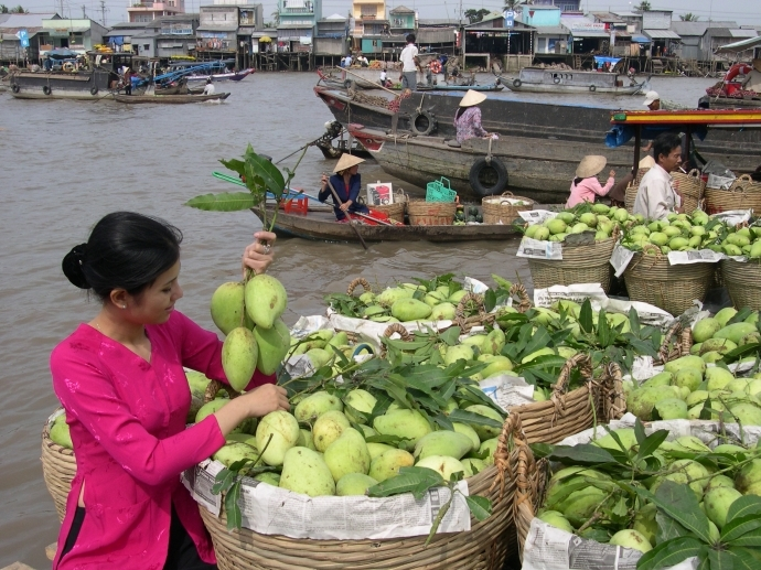 CAI RANG FLOATING MARKET - COOKING CLASS 1 DAY